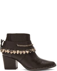 Freda Salvador Comet Leather Booties