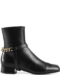 Gucci Soho Leather Ankle Boot