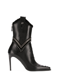 Dsquared2 Stitched Western Booties