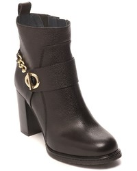 Tommy Hilfiger Chain Heeled Ankle Boot
