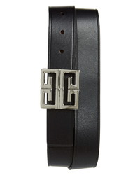 Givenchy 4g Reversible Leather Belt