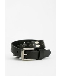 Urban Outfitters Ant Farm Silver Studded Leather Belt