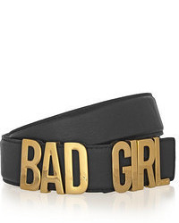 Moschino Bad Girl Leather Belt