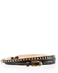 Berge Double Wrap Studded Belt