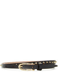 Berge Slim Gold Studded Belt