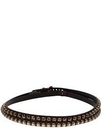 Ronald Pineau Double Side Embellished Belt