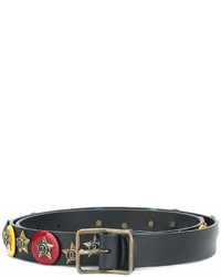 DSQUARED2 Embellished Badge Belt
