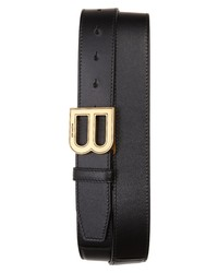Balenciaga Hourglass Logo Belt