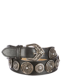 Missoni Leather Embellished Belt