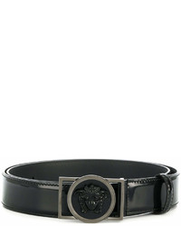Versace Medusa Embellished Buckle Belt