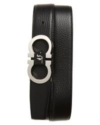Salvatore Ferragamo Paloma Double Gancio Reversible Leather Belt