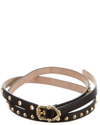 Burberry Stud Embellished Belt