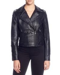 Black Embellished Leather Biker Jackets for Women   Women s Fashion ... 8dd183ceae4
