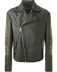 Versace Studded Jacket