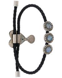 Alexander McQueen Heart Embellished Bracelet