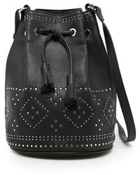 Mango Studded Bucket Bag