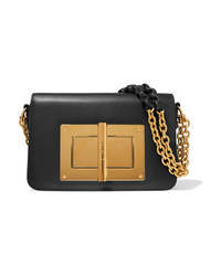 Tom Ford Natalia Large Leather Shoulder Bag