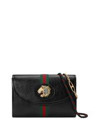 Gucci Small Linea Rajah Leather Shoulder Bag
