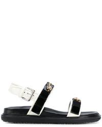Marni Crystal Embellished Sandals