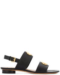 Valentino Garavani Eyelet Embellished Sandals