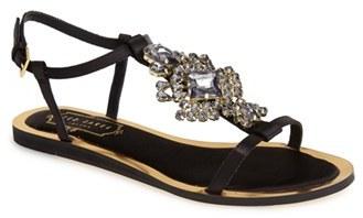 2a335c43118 ... Ted Baker London Roseupe Crystal Embellished Flat Sandal ...
