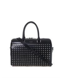 Saint Laurent 6 Hour Studded Leather Duffle Bag