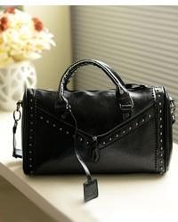 ChicNova Rivets Embellished Laciness Shoulder Bag