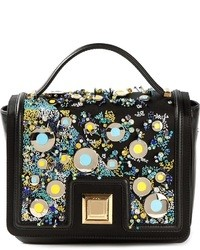 Ungaro emanuel embellished shoulder bag medium 35240