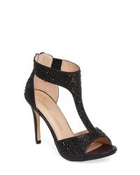 Lauren Lorraine Ina Crystal Embellished Sandal
