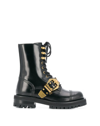 Versace Lace Up Boots