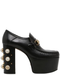 Gucci 120mm Vegas Embellished Leather Pumps