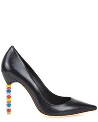 Sophia Webster Coco Crystal Embellished Leather Pumps