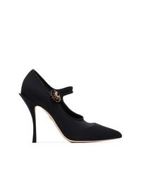 Dolce & Gabbana Crystal Mary Jane Pumps