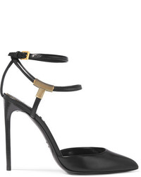 Tom Ford Embellished Leather Pumps Black