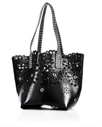 Marc Jacobs Embellished Laser Cut Leather Tote