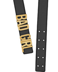 Moschino Bad Girl Leather Belt