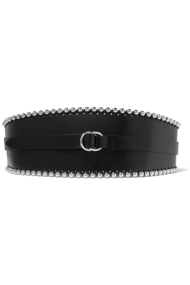Isabel Marant Kytoo Embellished Leather Waist Belt