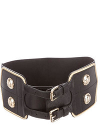 Temperley London Stud Embellished Waist Belt