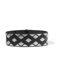 Isabel Marant Zony Embellished Leather Waist Belt