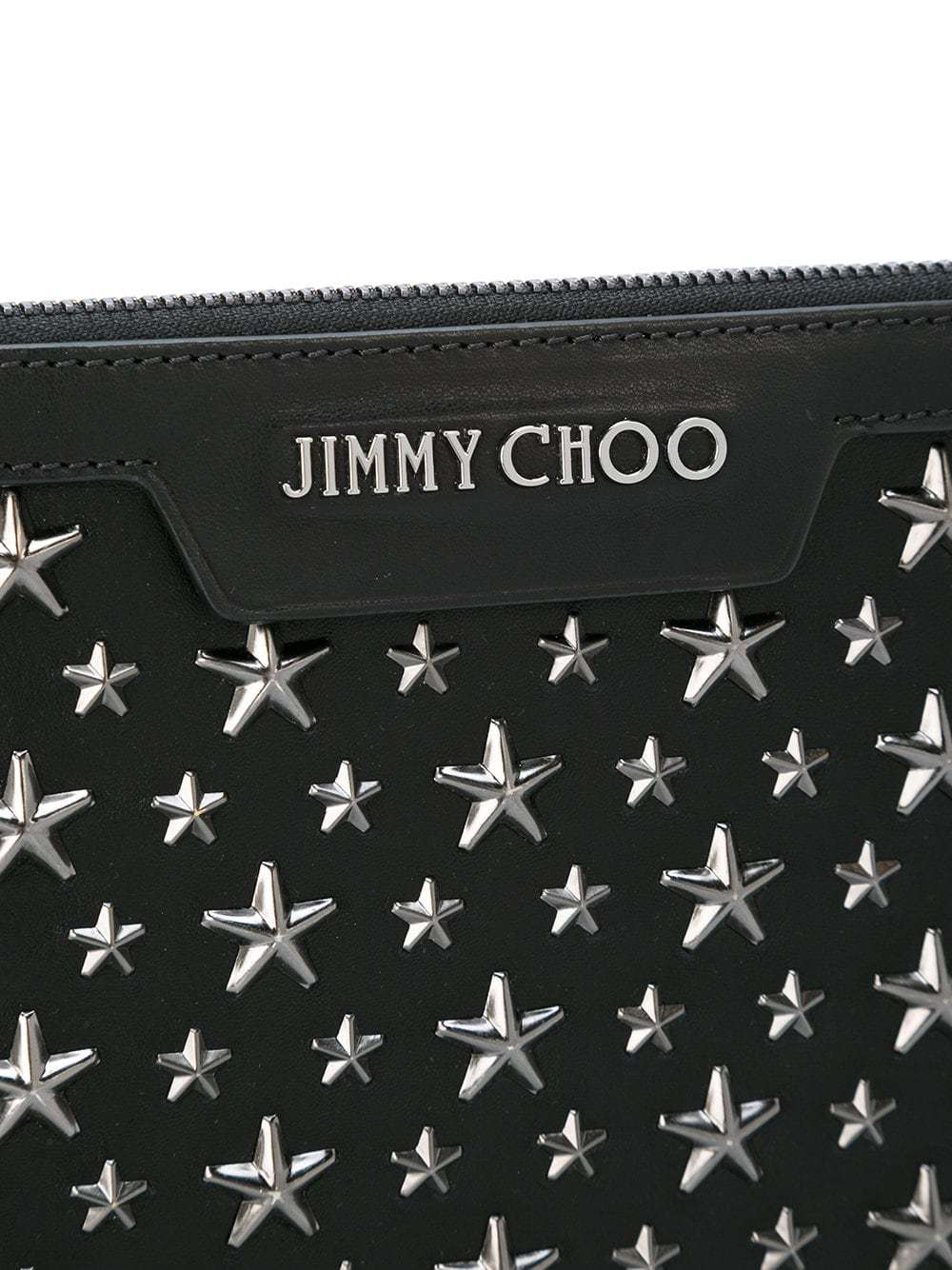 a4a4f3a74ced ... Embellished Leather Zip Pouches Jimmy Choo Mini Derek Clutch ...