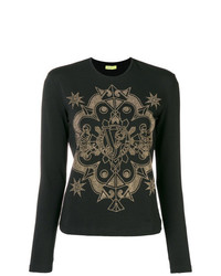 Versace Jeans Studded Crewneck Top