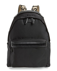 Stella McCartney Logo Strap Nylon Backpack