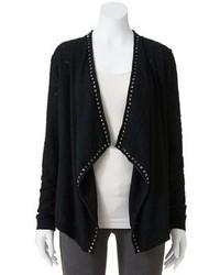 Embellished open front cardigan medium 74459