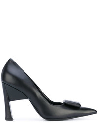 Marni Rectangle Embellished Pumps