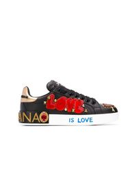 Dolce & Gabbana Appliqu Low Top Sneakers