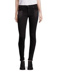 True Religion Halle Embellished Super Skinny Jeans