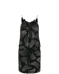 Saint Laurent Metallic Embroidered Dress