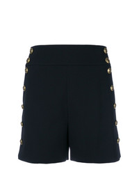 Chloé Button Embellished Fitted Shorts