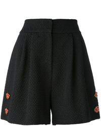 Dolce & Gabbana Floral Embellished Shorts