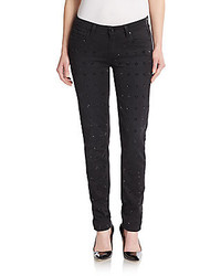 Paige Bejeweled Front Ultra Skinny Jeans